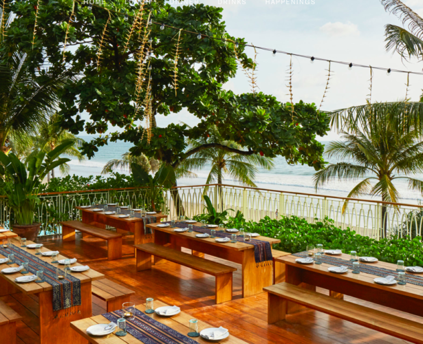 KAUM celebrates local flavours at Potato Head Beach, Bali