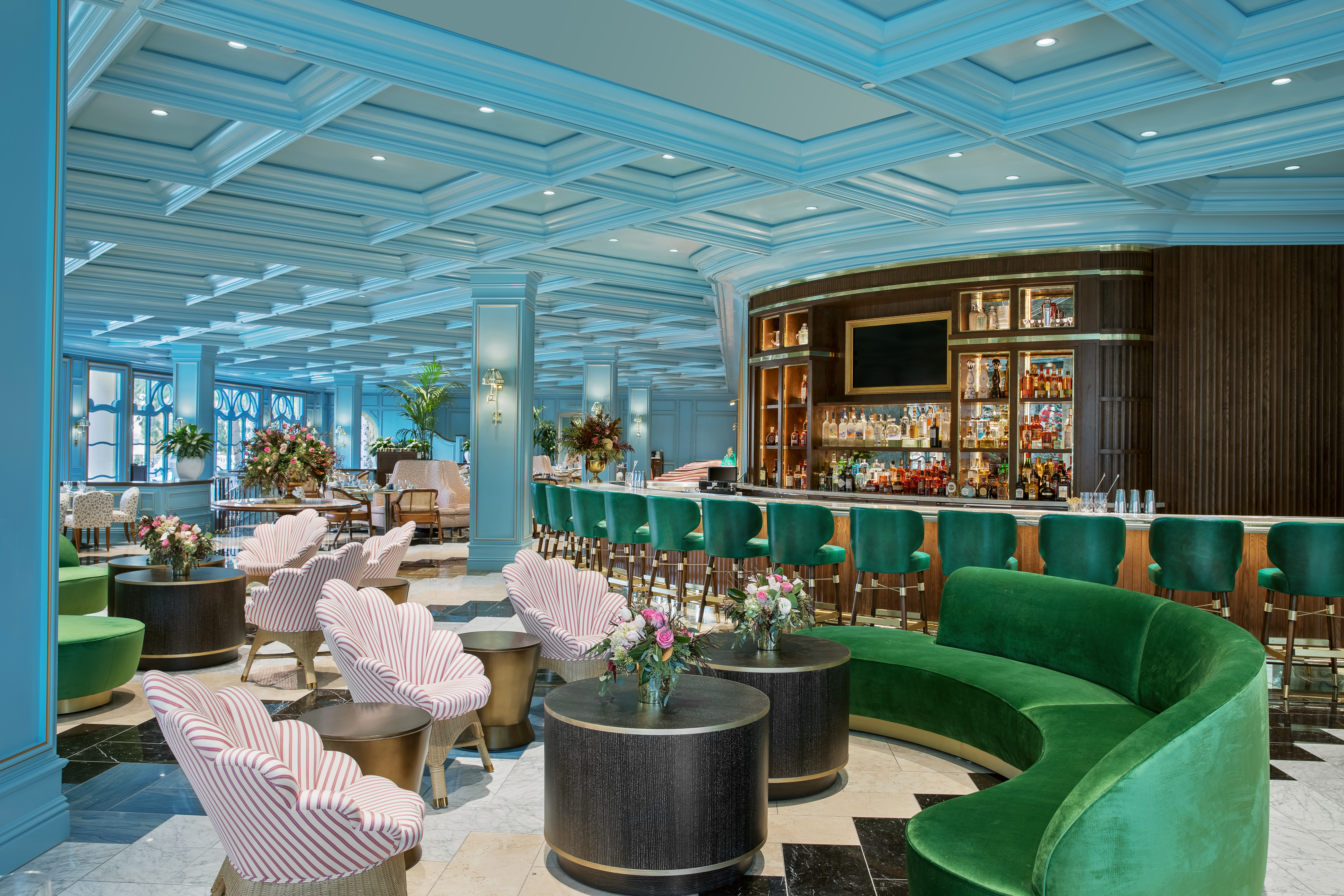 With playful design nods to old world traditions sadelles gives a bold new identity to restaurants in las vegas