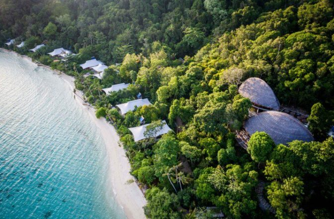 Bawah Reserve – one of the world's most secluded hideaways
