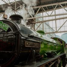 FROM LONDON WATERLOO TO ROYAL WINDSOR IN A STEAM TRAIN