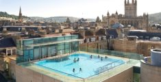 A steamy soak at Thermae Bath Spa, Britain's only natural thermal spa