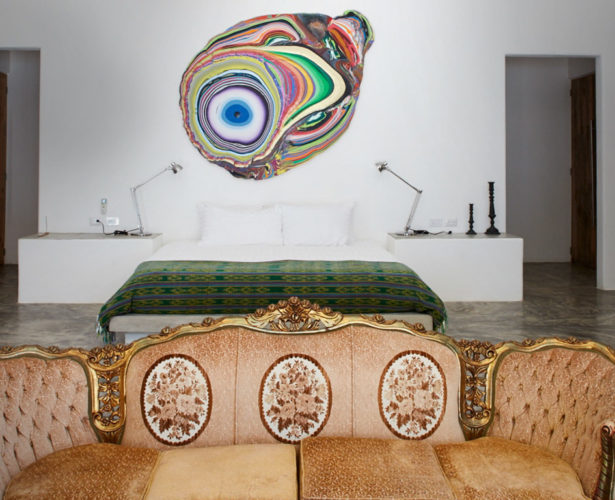 Our pick – the best arty boutique hotels this month