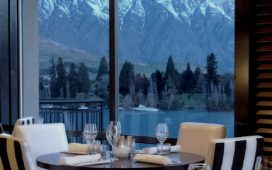 Enjoy a magic dinner with a movie-worthy backdrop at Lombardi Restaurant