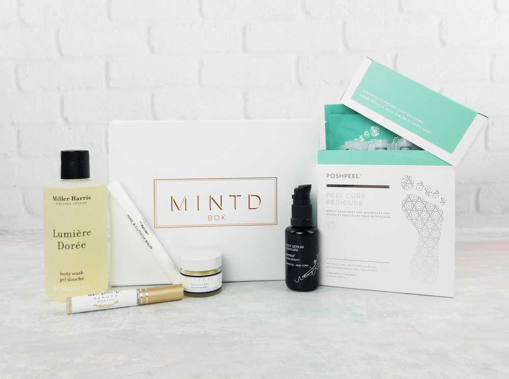 Mintd Beauty Subscription Box: £70 a month,Mintd