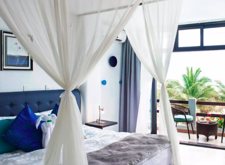 Ecuador beach hotel