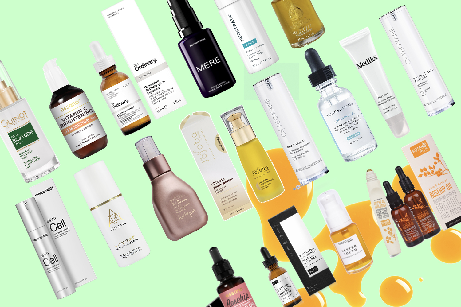The best face oils and serums right now for youth and glow
