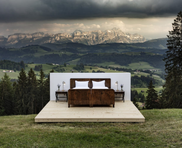 Zero Real Estate: Sleep Alfresco under the stars in pop-up hotel rooms in Switzerland