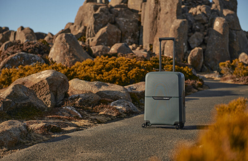 Lighten your footprint with the new Samsonite Magnum Eco