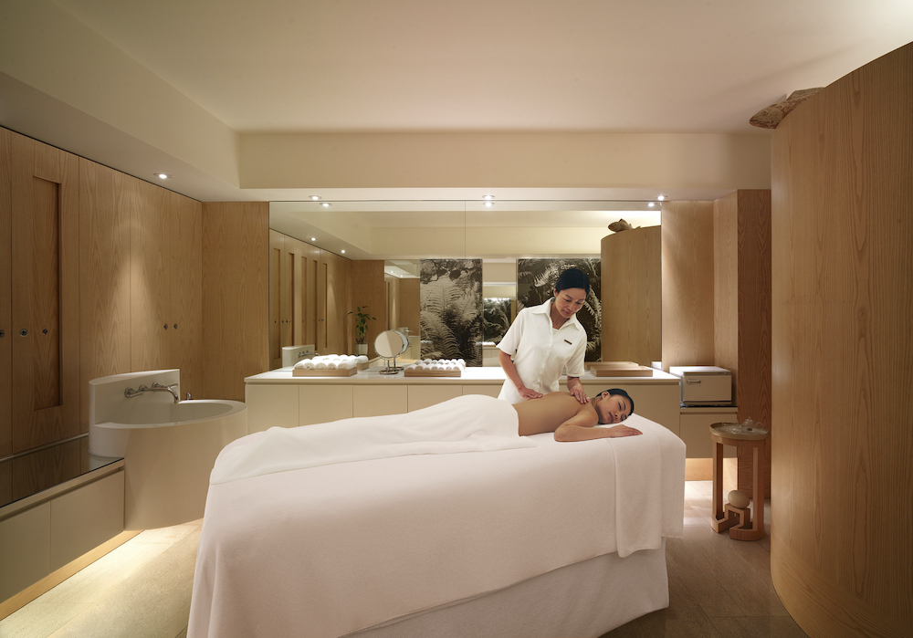 The Plateau Spa at Grand Hyatt Hong Kong