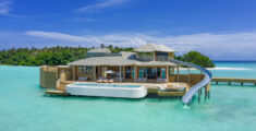 Soneva Fushi Maldives' new Water Retreats come with water slides