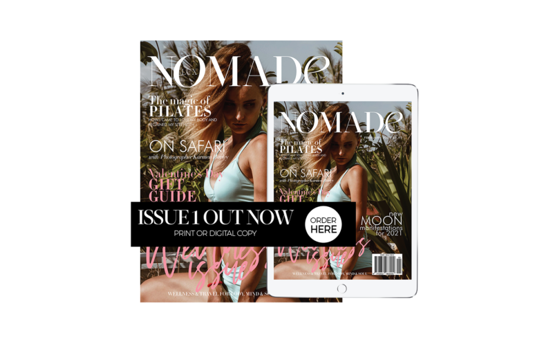 Lux Nomade's Debut Print Magazine is OUT NOW