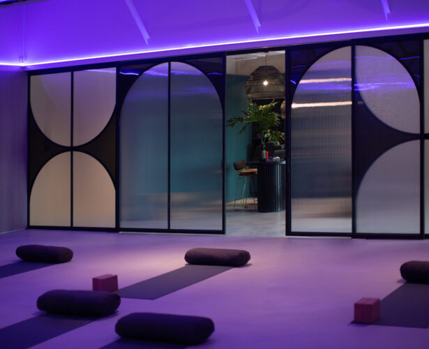 Melbourne's new Yoga Studio integrates light, sound and colour