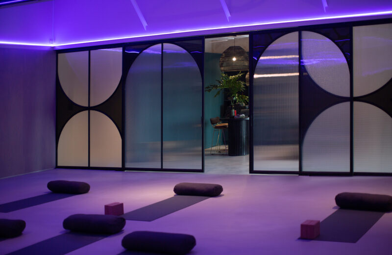 Melbourne's new Yoga Studio integrates light, sound and colour