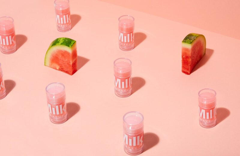Refreshing and hydrating watermelon-infused skincare