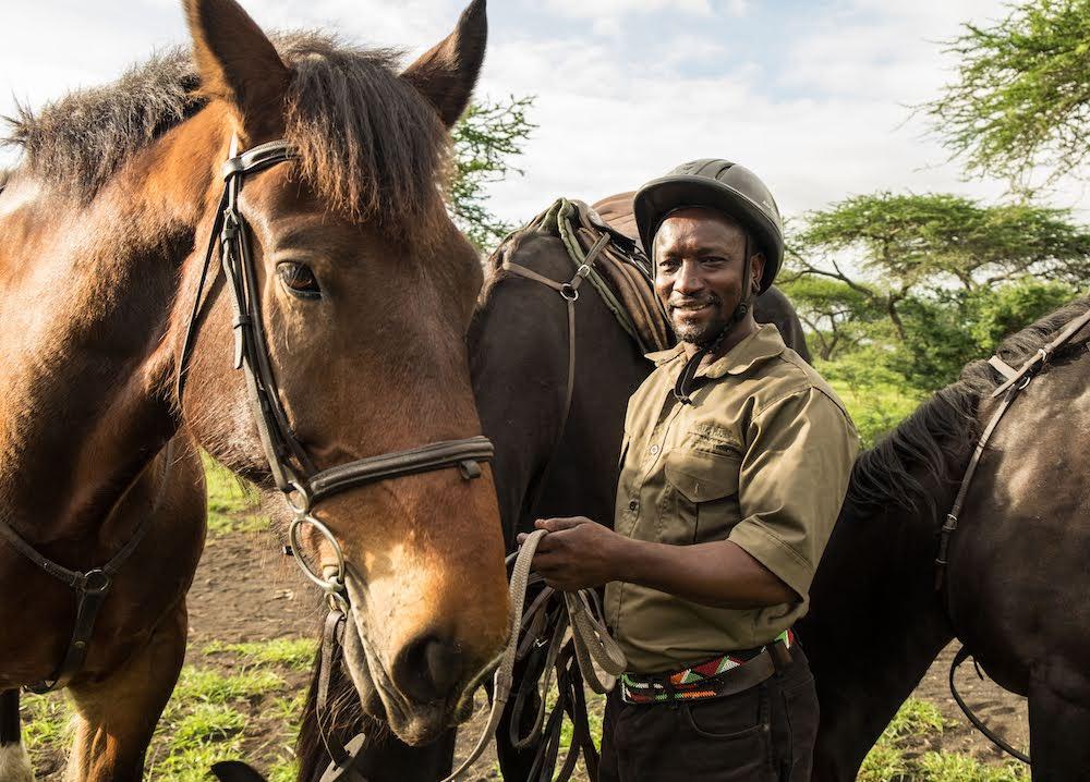 horse safari Africa