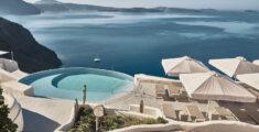 Meditation at Mystique in Santorini: a wellness oasis