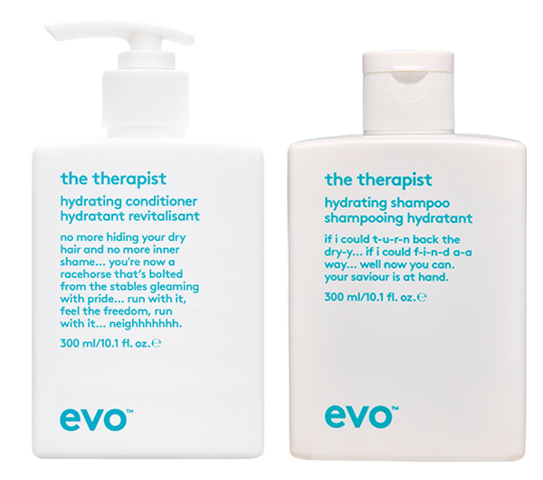 Hydrating shampoo and conditioners